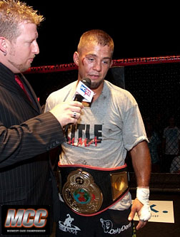 Feather Weight Champion Eric Marriot