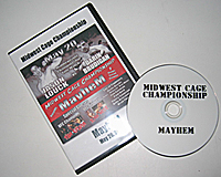 Photo of the case ad dvd for Mayhem