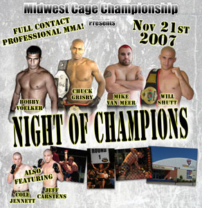 Photo of MCC 11 Night of Champions