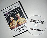 Photo of the box and dvd for The Rematch