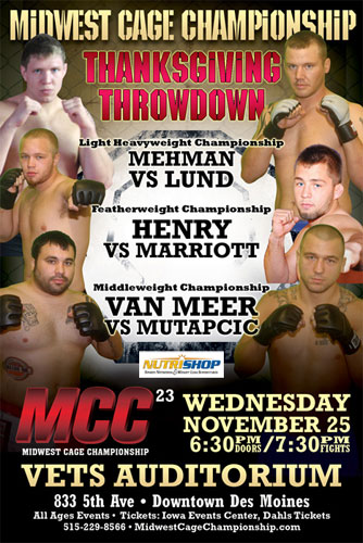 MCC 23 Thanksgiving Throwdown