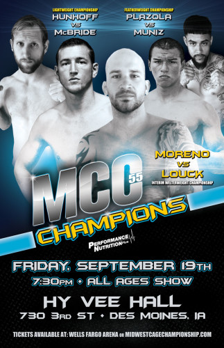 MCC 55 - Friday Sept 19